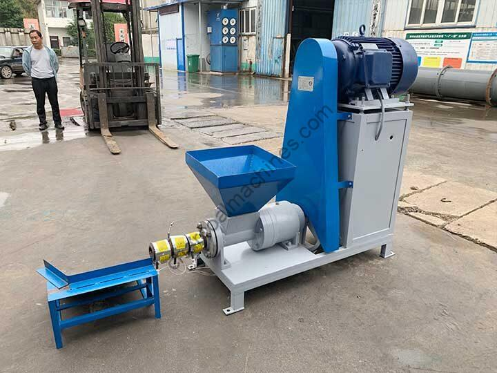 electric biomass briquette extruder machine for shipping