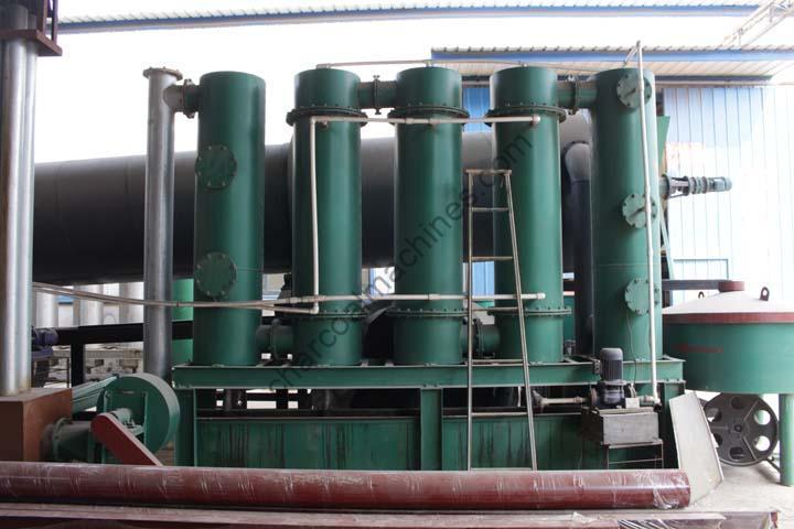 Flue gas purification