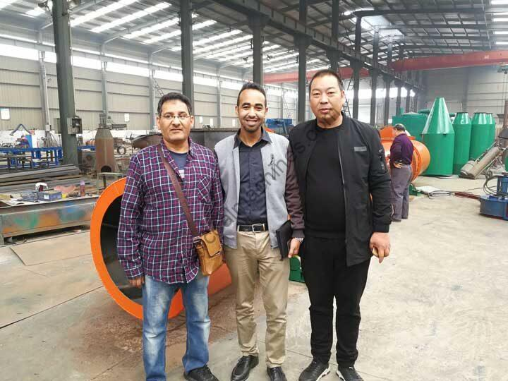 Vietnamese customers visited the Shuliy factory