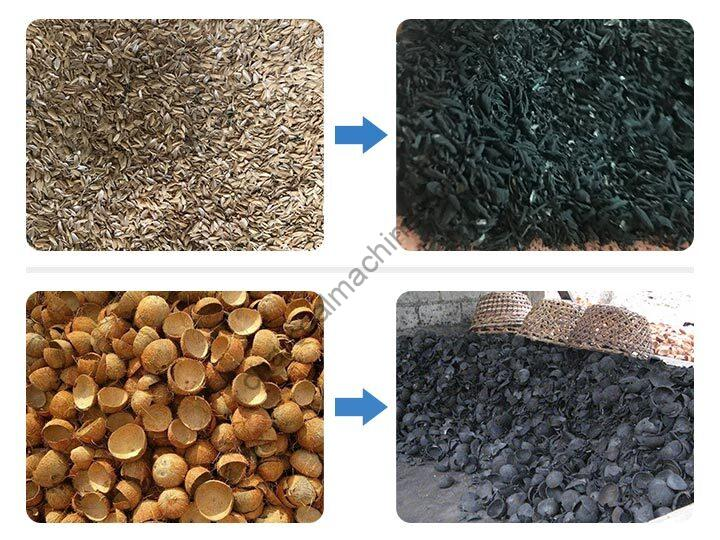 carbonizing effect of continuous furnace