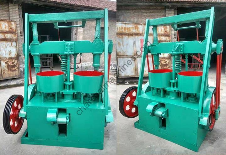 coal briquette machine with double inlets