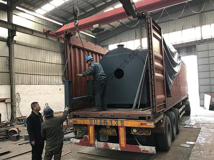 coconut shell charcoal machine for shipping to the Philippines