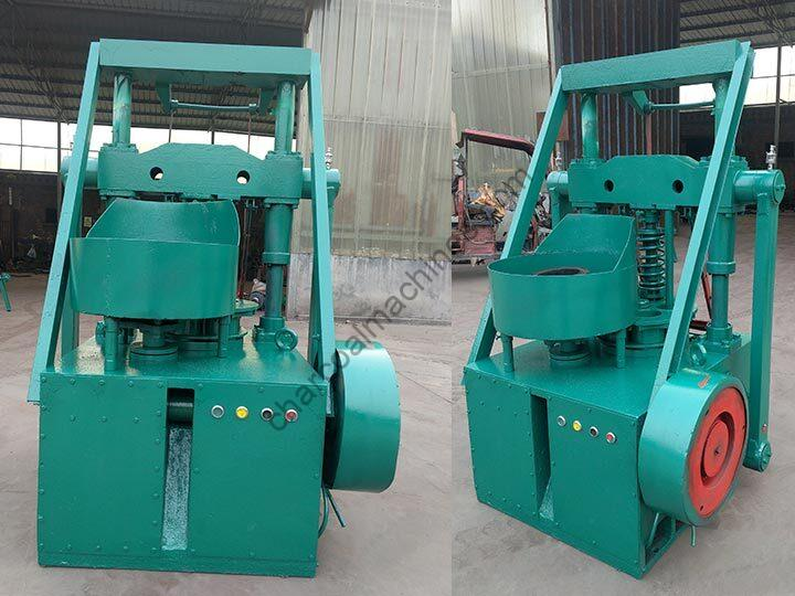 honeycomb coal briquette press machine with single inlet