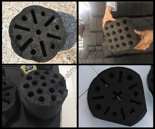 honeycomb coal briquettes production effect