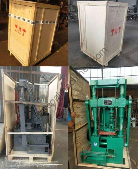 packaging and shipping of honeycomb coal briquette machines