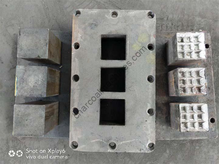 Shisha charcoal machine mold