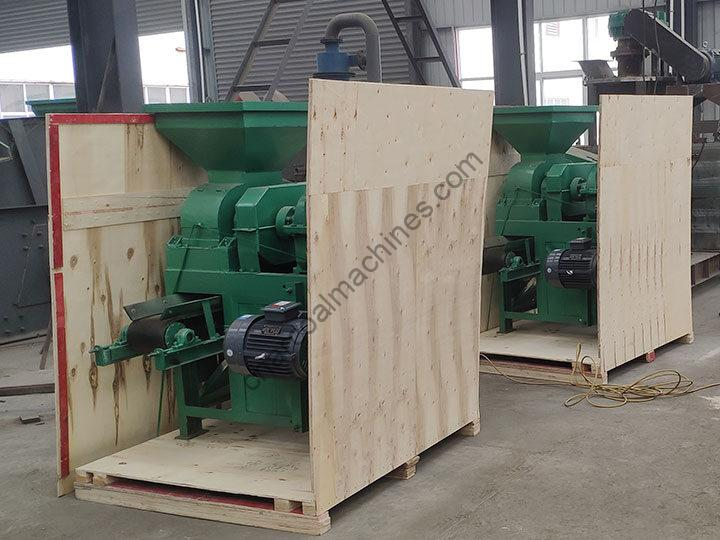 commercial bbq charcoal machine packaging
