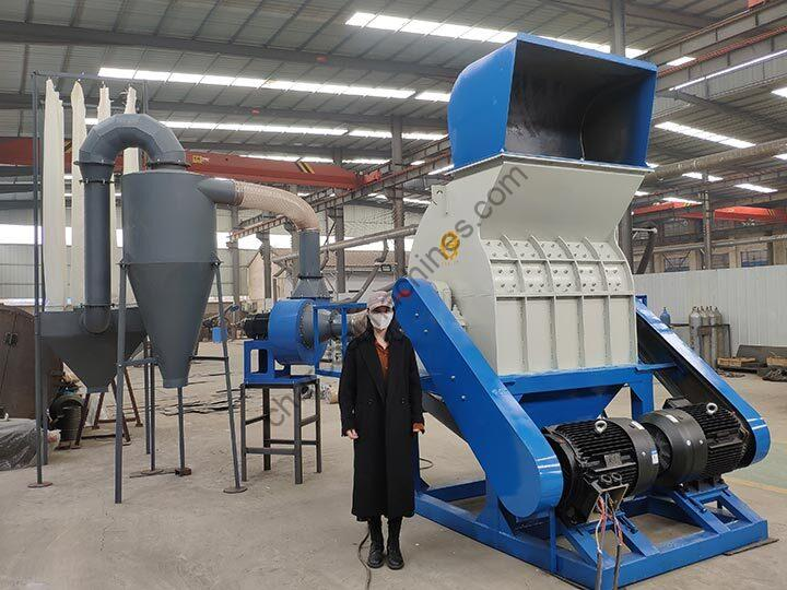 hammer mill crusher will dust collector