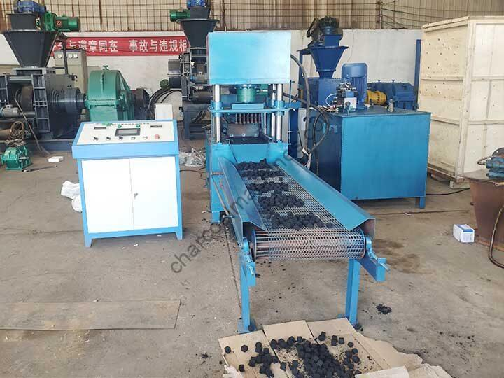 hydraulic charcoal brquette machine factory