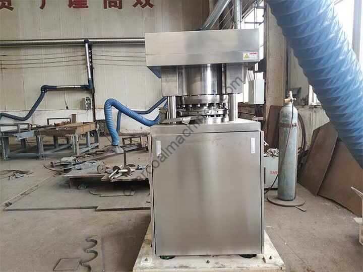 rotary charcoal press machine in manufacturing