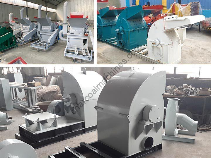 small type of hammer charcoal crusher