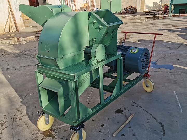 small wood crusher with wheels