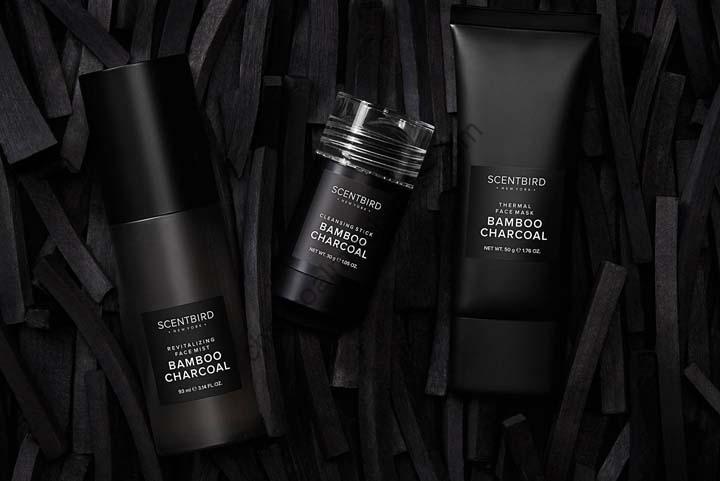 Bamboo charcoal cosmetics