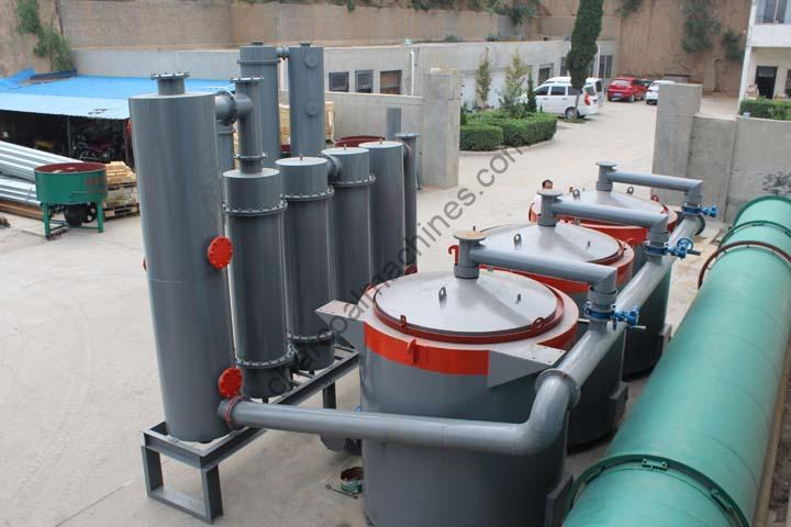 commercial charcoal making machine