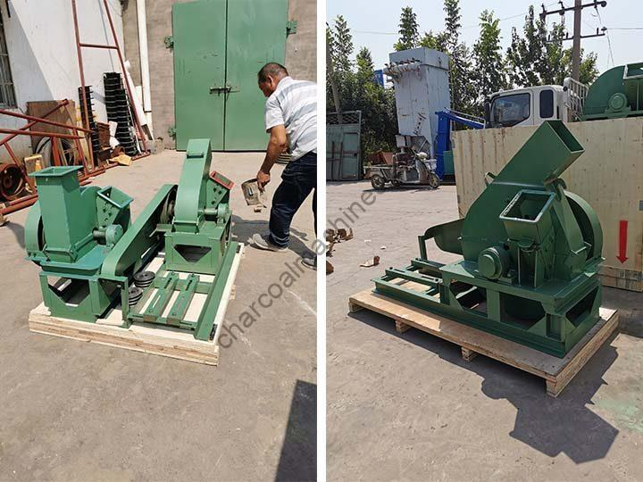 disc wood chippers for shipping