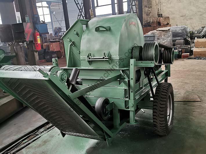 new design wood shaving machine