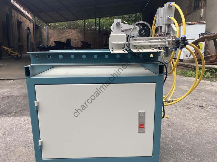 newly manufactured chrcoal briquettes cutter
