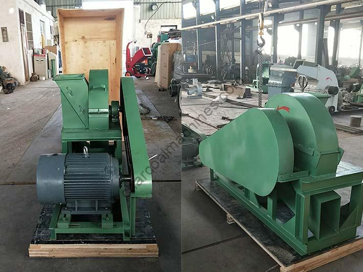 small wood shaving machine for shipping to South Africa