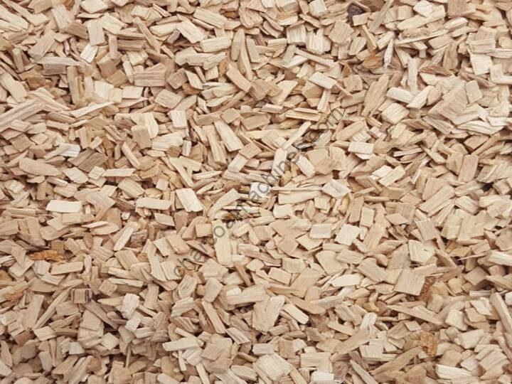 wood chips production