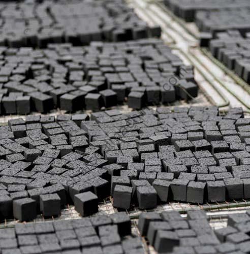 cubic shisha charcoal
