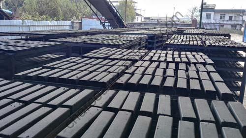 charcoal briquettes production