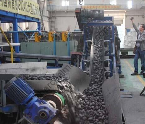 coal and charcoal briquettes production