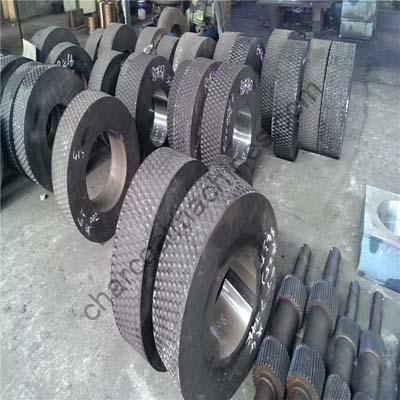 coal ball press roller