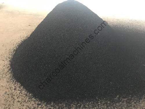 straw charcoal made by straw charcoal production line