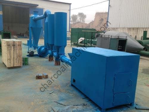 airflow dryer machine in charcoal machine factory