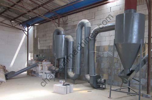 airflow dryer machine in workshop