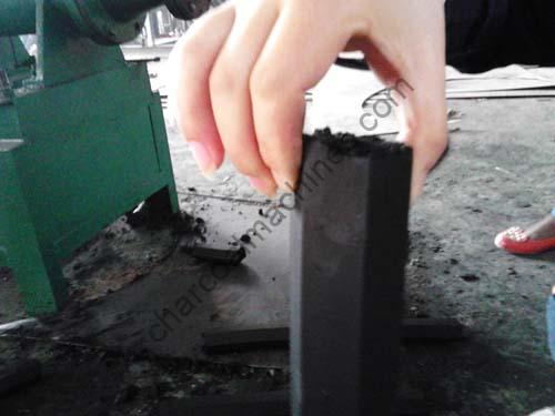 charcoal rods making