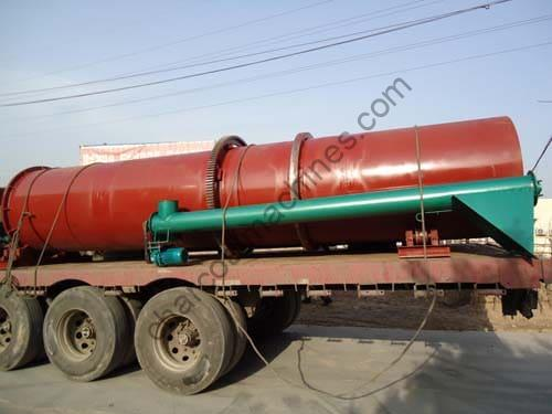 delivery of rotary dryer machine