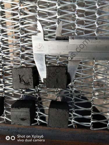 lettering cubic shisha charcoal