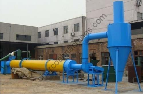 rotary sawdust dryer machine