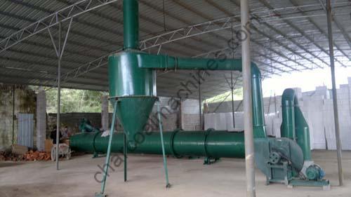 rotary drying machine