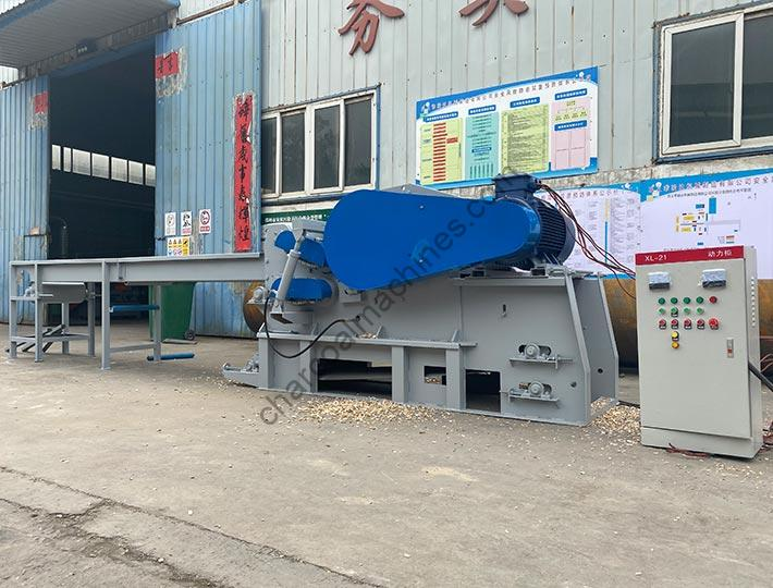 complete wood chipping equipment of shuliy factory