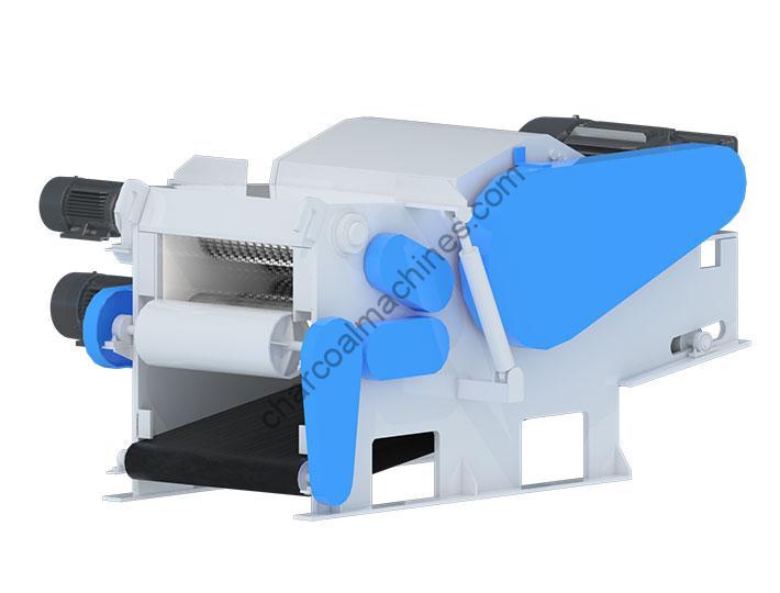 wood chipping machine design