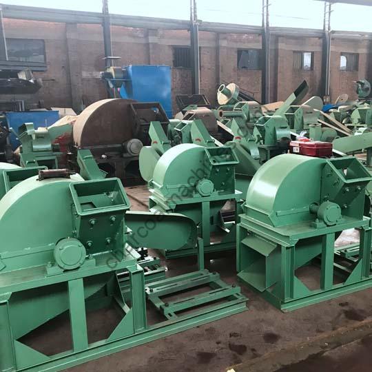 wood crusher factory