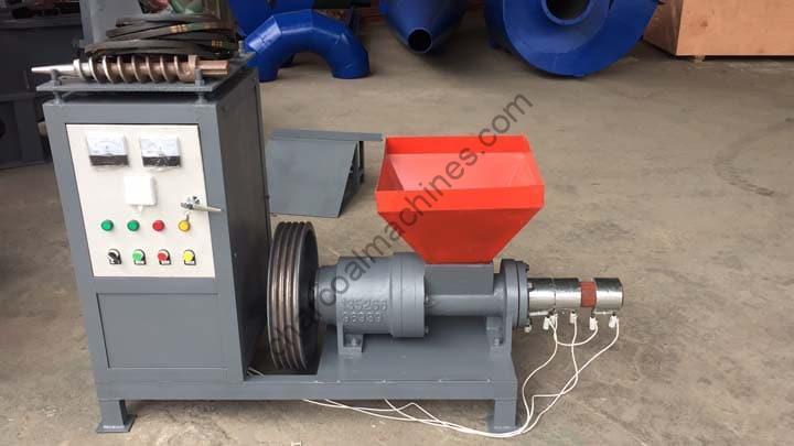 Tanzania order of the sawdust briquette machine