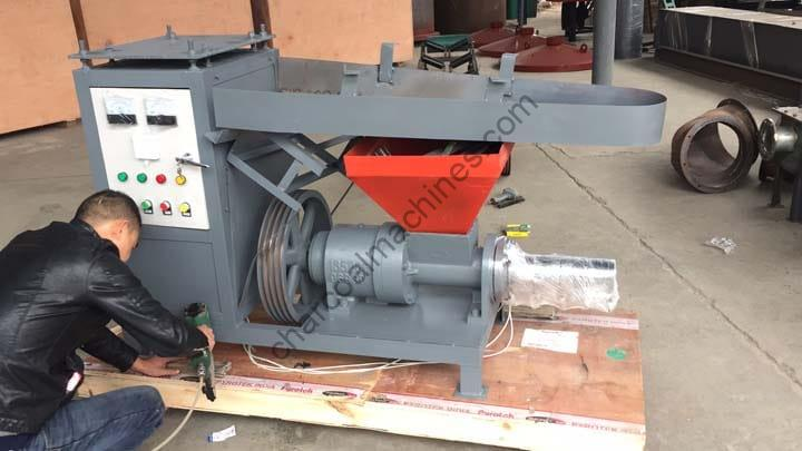 briquette making machine for shipping