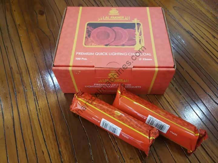 hookah charcoal packaging