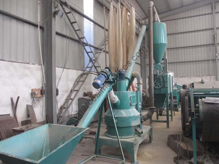 wood milling plant