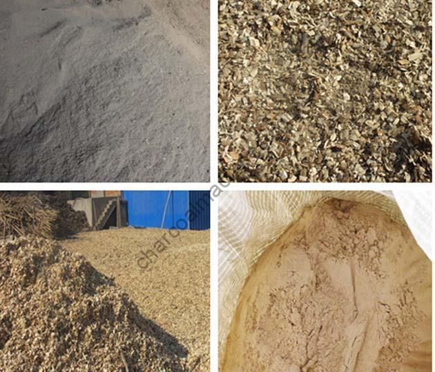 wood powder processing