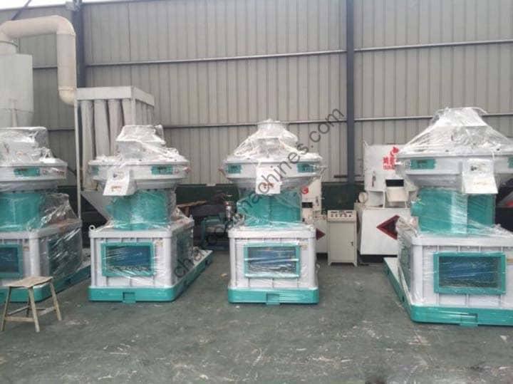 commercial wood pellet mill