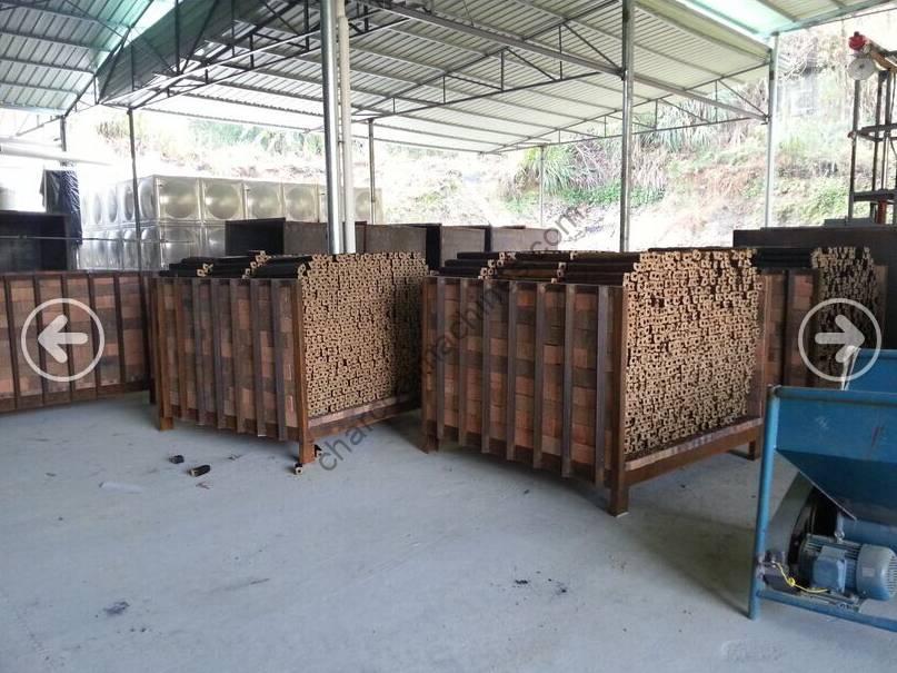 charcoal briquettes processing plant