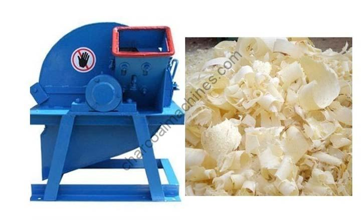 wood shavings made by electric wood shaving maker