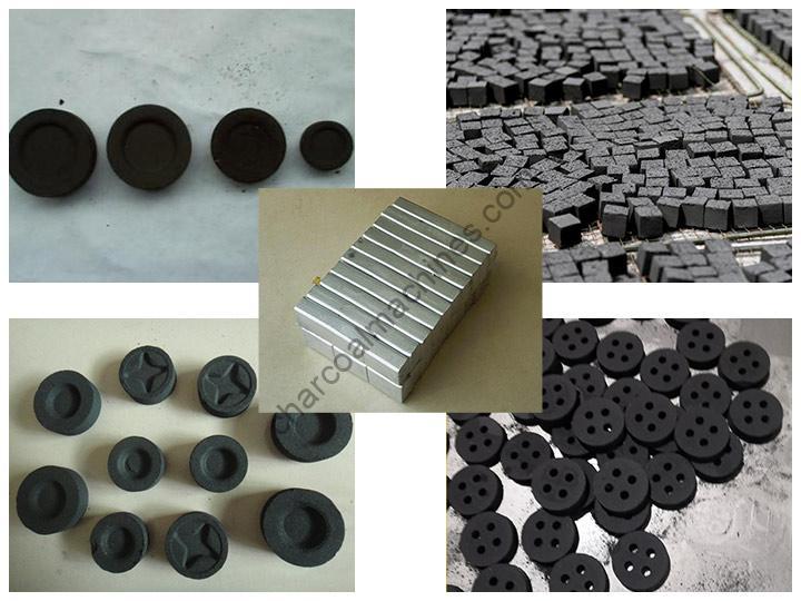 Shisha charcoal briquettes of Shuliy factory
