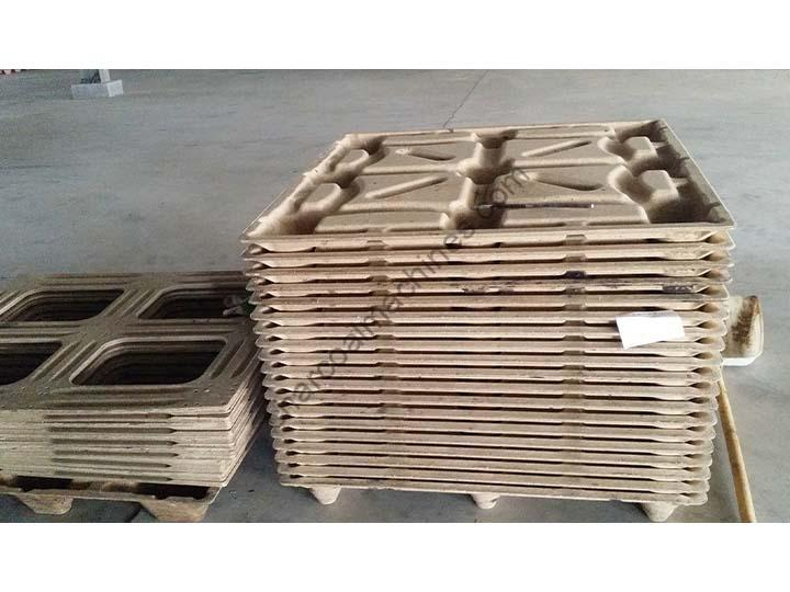 pressed pallets made by wood pallet machine