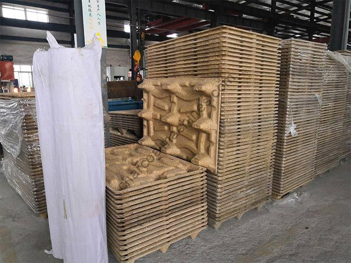 wood pallets production
