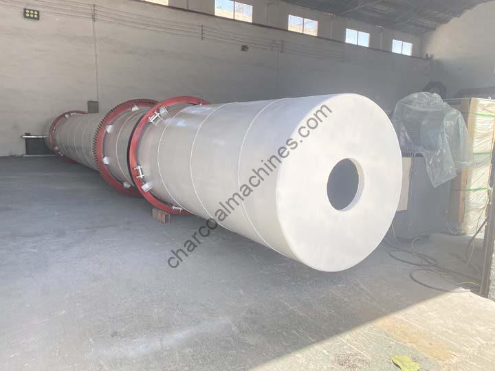 continuous sawdust drying machine